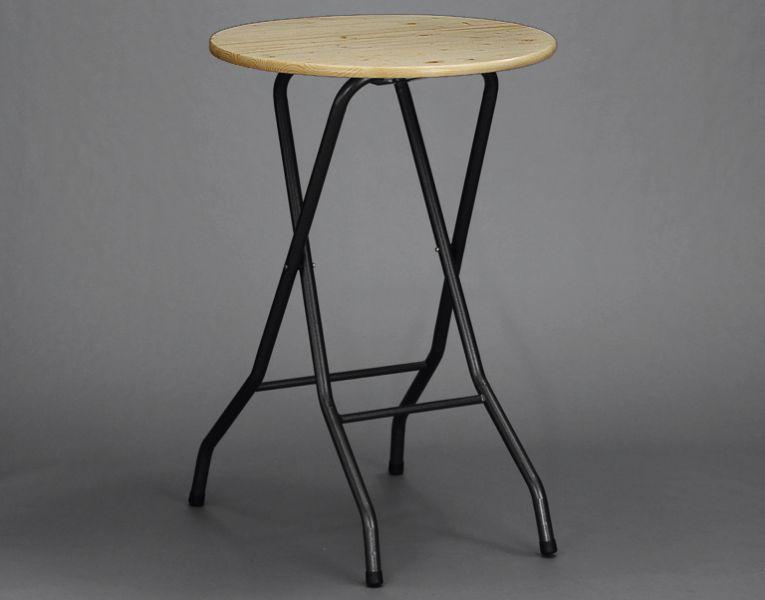 stehtisch klappbar tischplatte fichtenholz gr e 80 cm gartenpauli paulenz holz und mehr. Black Bedroom Furniture Sets. Home Design Ideas